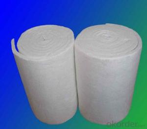 Ceramic Fiber Blanket Refractory Material for Insulating