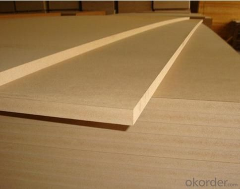 Both Sides Non-sanded MDF Plain MDF Thin Boards