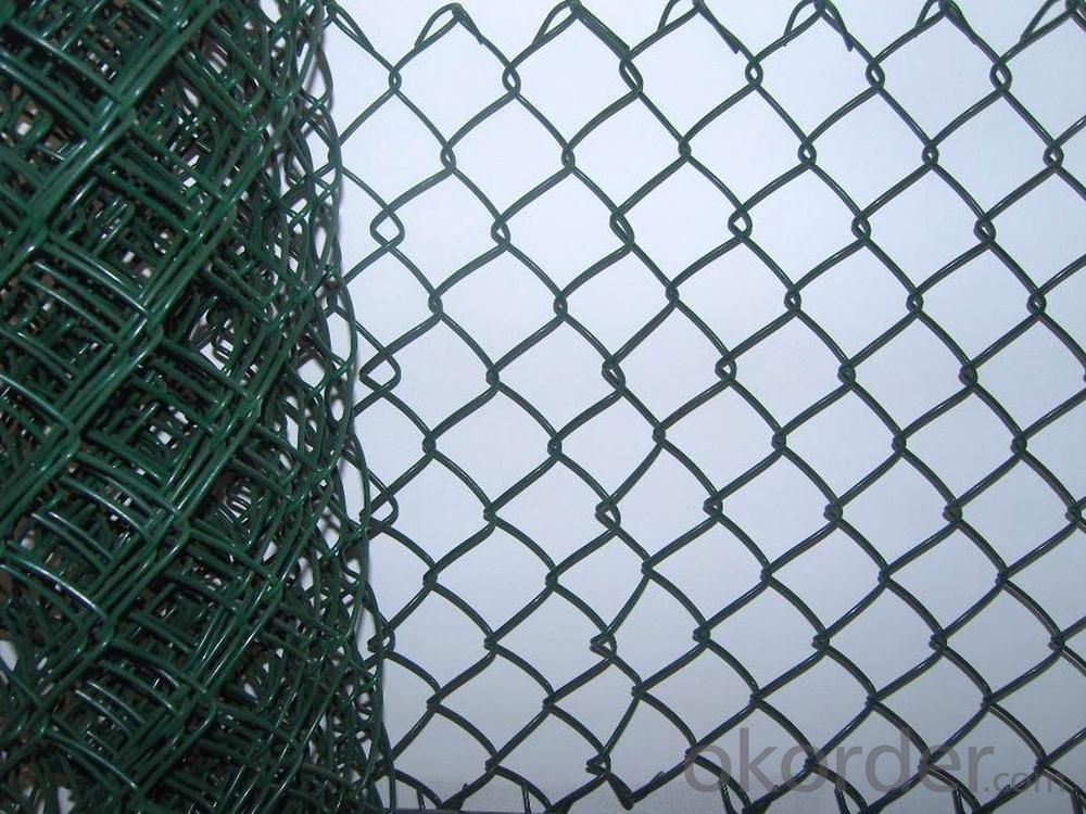 Buy Pvc Coated Hurrican Chain Link Mesh Fence Price Size