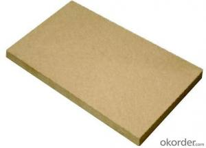 Raw MDF Board Light Color E1 Grade Both Sanded
