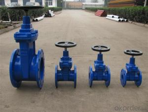 ISO Standard Eccentric Double Flanged Rubber Seal  Butterfly Valve