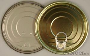 Easy Open End For Food Can,Tinplate Material, 200# Full Open