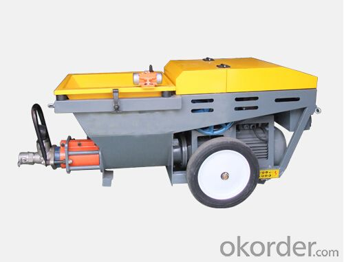 JP50-p Large Output Diesel  Mortar Pump for Plastering