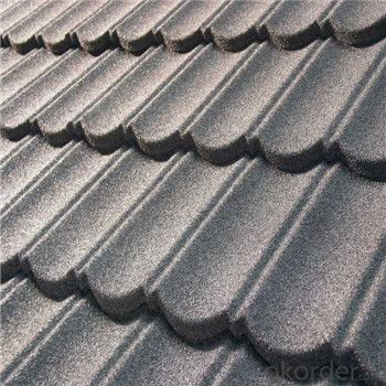 Stone Coated Metal Roofing Red Blue Black Yellow Roofing Factory Price
