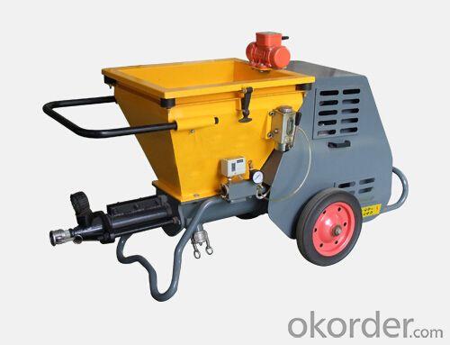 JP40I  Large Output  Diesel  Mortar Plastering Pump