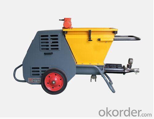 JP40I Small Volume Diesel  Mortar Pump High Efficiency