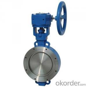 Butterfly Valve DN700 Turbine Type  with Hand wheel BS Standard