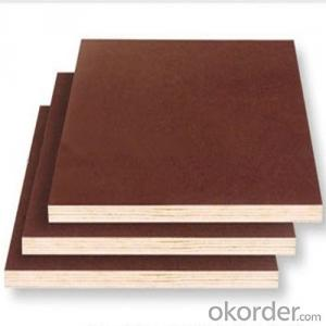 Brown and Black Film Faced Plywood for Outdoor Usage