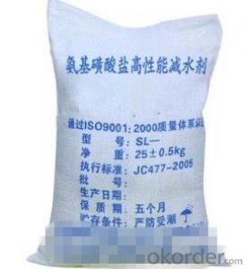 Amino Sulfonate Superplasticizer Water Reducer
