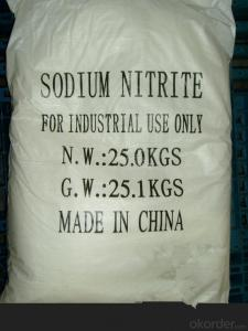 Sodium Nitriate in Concrete with High Performance
