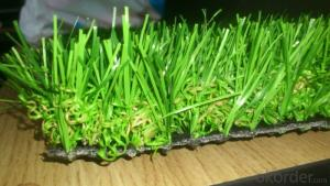 Economical Landscaping Artificial Grass Synthetic Lawn For Sports , PP  Net Cloth