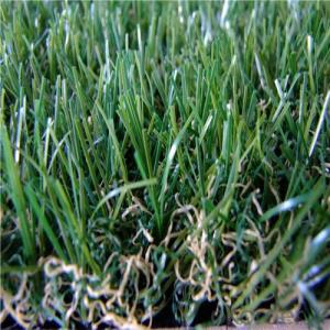 Customized Landscaping Artificial Grass , Outdoor Synthetic Turf 3/8 inch gauge