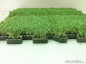 Natural looking Landscaping Artificial Grass 30mm / Synthetic Grass 4 color