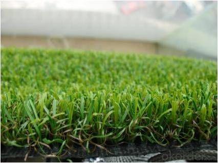 Fire Proof Landscaping Artificial Grass for Home & Garden 30mm Natural Green