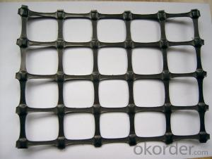 Fiberglass Geogrid 100KN for Road Construction