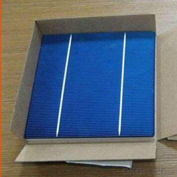 Monocrystalline Solar Cell 125mm×125mm±0.5mm