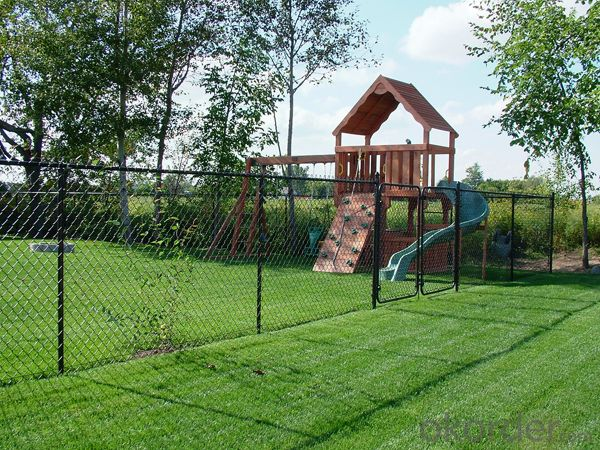 Easy Assemble Beautiful Chain Mesh Fence
