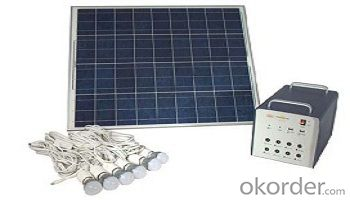 SPS-15 Micro off Grid Solar System with LED Lighting
