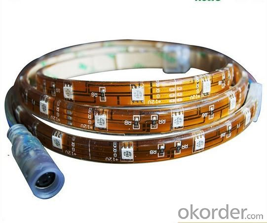 UL CE RoHS certified SMD5050 led flexible strip light 60 led/m DC12V