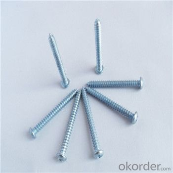Self Drilling Screw Factory Indented Hex Washer Head