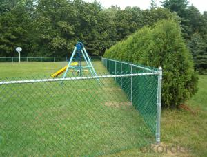 9Guage Garden Galvanized Chain Link Fence