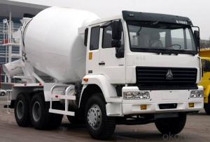 Concrete Mixing Truck From China