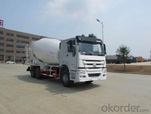 Concrete Mixing Truck 6*4 Drive Type Cement