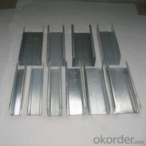 Galvanized Drywall Stud Building Metal Profile Hot Sale