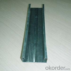 Galvanized Steel Furring Channel Drywall Profiles