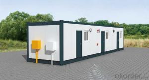 Top Housing Materials, Prefab Steel Frame Cabin, Portable Shop Building