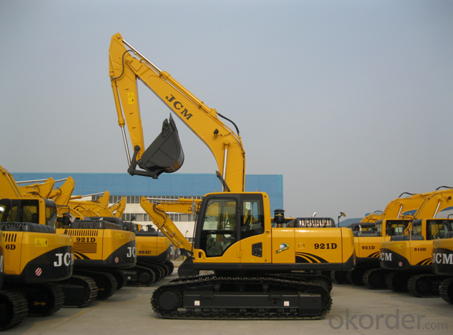 JCM921D Hydraulic Crawler Excavator Digger Mechanical Shovel