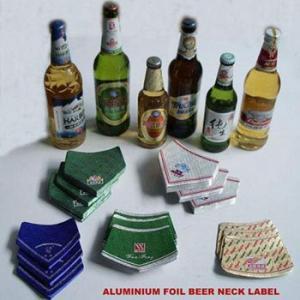 Aluminium Foil for Beer Bottle Mark Printed Embossed Foil