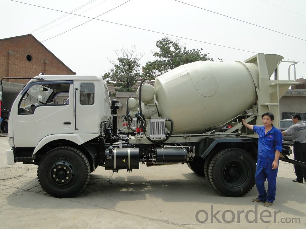 Concrete Mixer Truck 9cbm from China