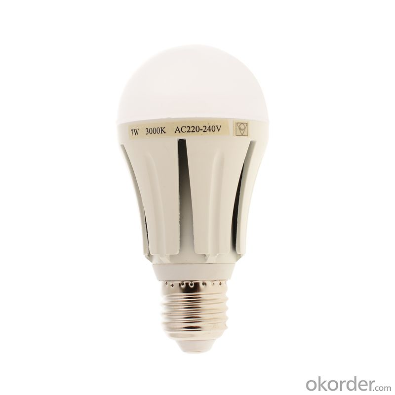 Warm/ Pure/Cool White 9w LED  Bulb Light