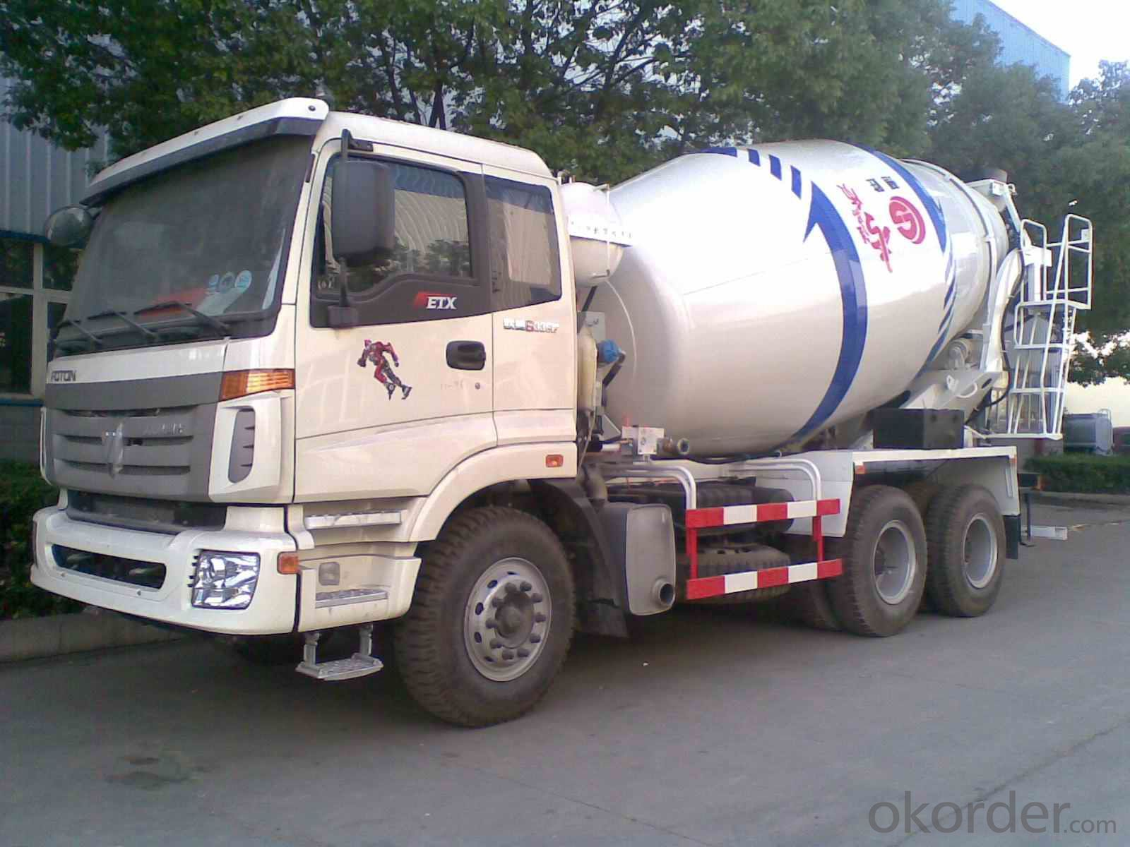 8m3  A7 Concrete Mixer & Mixing Truck (ZZ1257N3847)