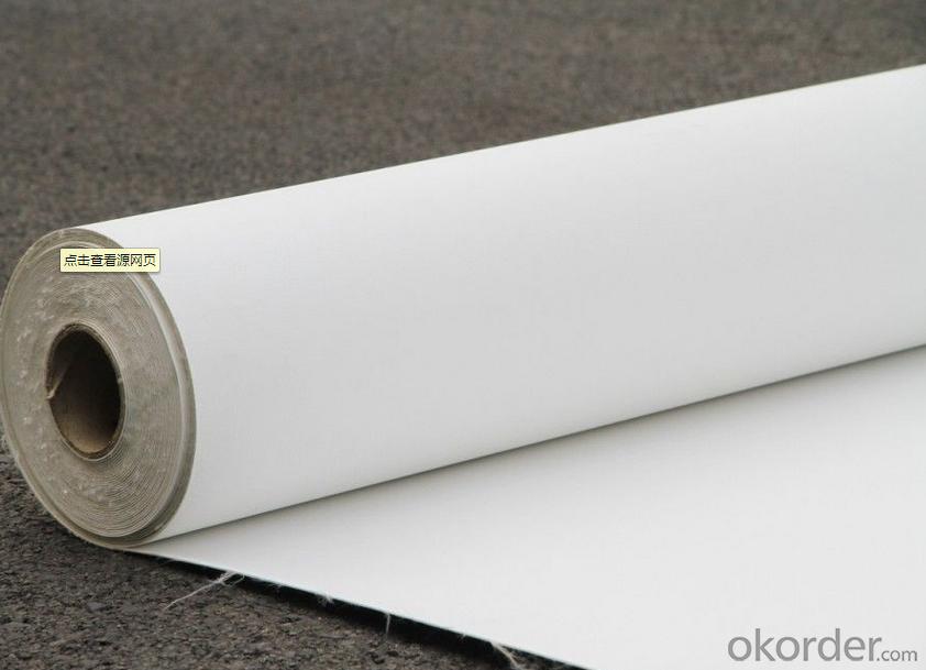 PVC Fiberglass Reinforced Waterproof Membrane with 1.5mm Thickness