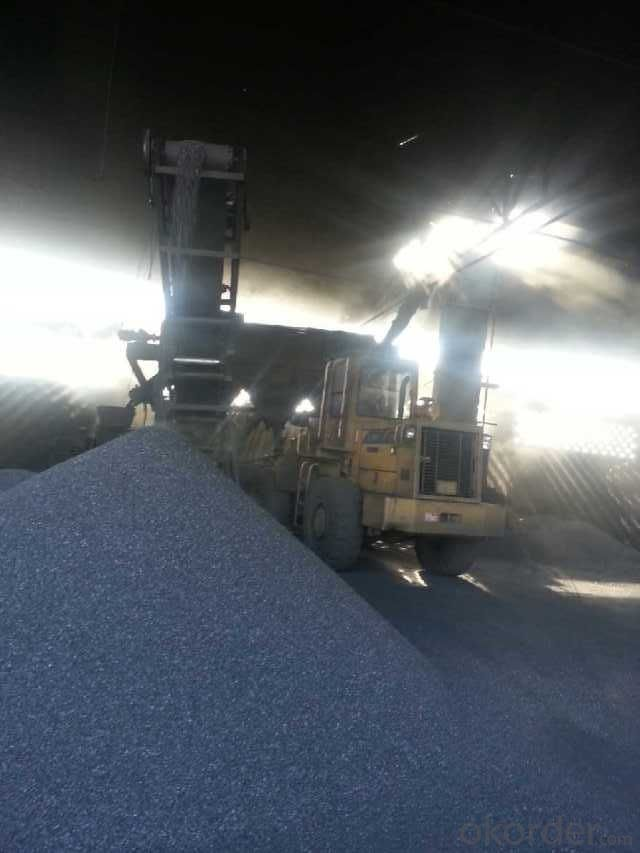 Calcined Anthracite made from TAIXI anthracite with stable quality  F.C. 92%