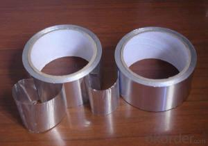 Silver Color Adhesive Aluminum Foil Tape