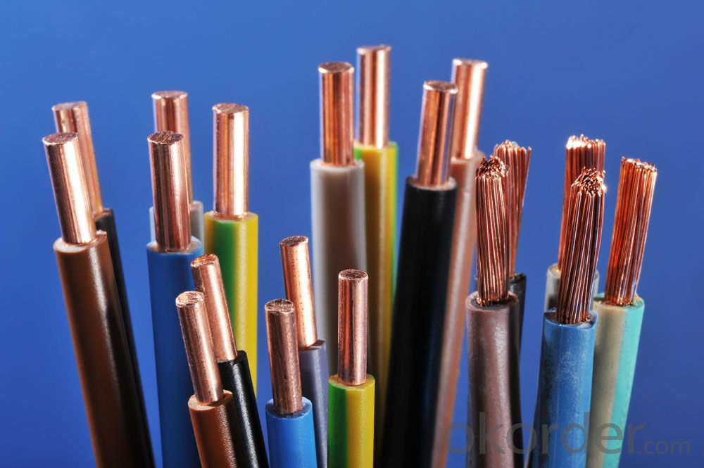 Electrical wiring and cable,single core copper conductor