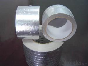 Synthetic Rubber-Resin Aluminum Foil Tape