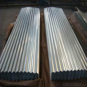 Galvanized Steel Roof in 9-waving Regular Shape