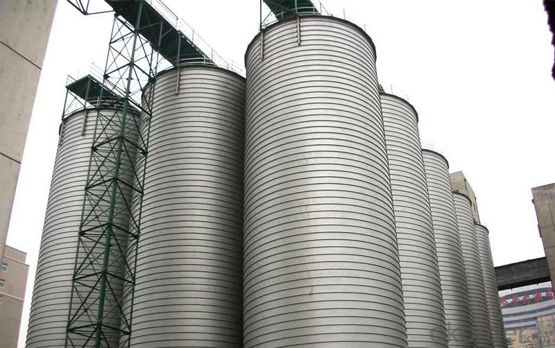 Lime Cement Silo with CE Approved on Sale
