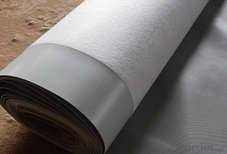 PVC Waterproofing Sheets in 1.2mm with Fabric Back