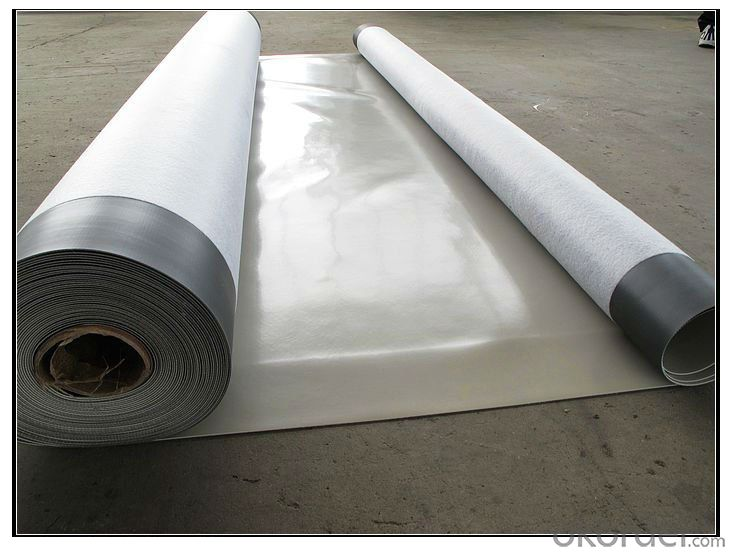 PVC Waterproofing Menbrane for Roofing Construction