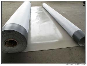 PVC Waterproofing Sheets in 1.2mm with Polyester Reinforcement