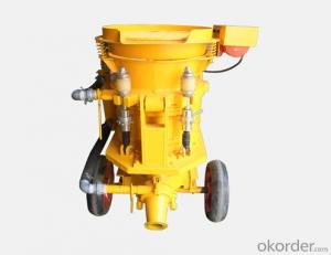 Small Volume Wet Concrete Shotcrete Machine