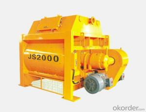 JS500 Double-Shaft Concrete Mixer for Sale