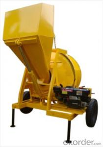 Small Volume Drum Concrete Mixer with Large Output