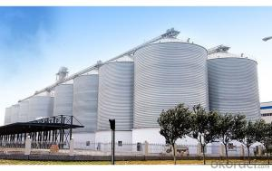 Customized Steel Silos Wheat Silo,Engineers Service Overseas
