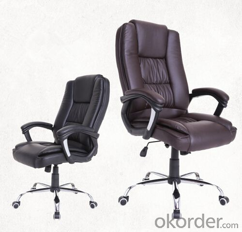 High-Back Executive Office Chair with Arms